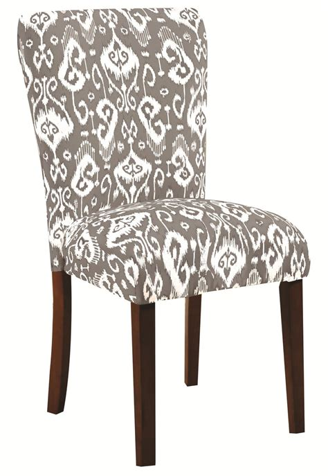 coaster 104049 grey fabric dining chair a sofa