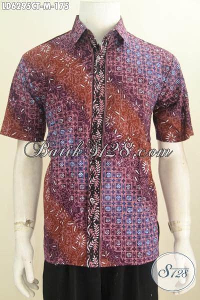 Batik Sarimbit Gradasi Doby Cap kemeja batik modern dengan motif unik dan warna gradasi