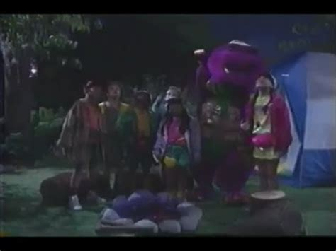 barney and the backyard gang cfire sing along barney the backyard gang barney s cfire sing along