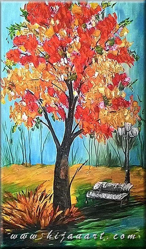 Lukisan H gambar lukisan alam sederhana pemandanganoce