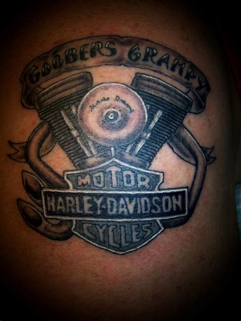 harley tattoos 24 harley engine tattoos
