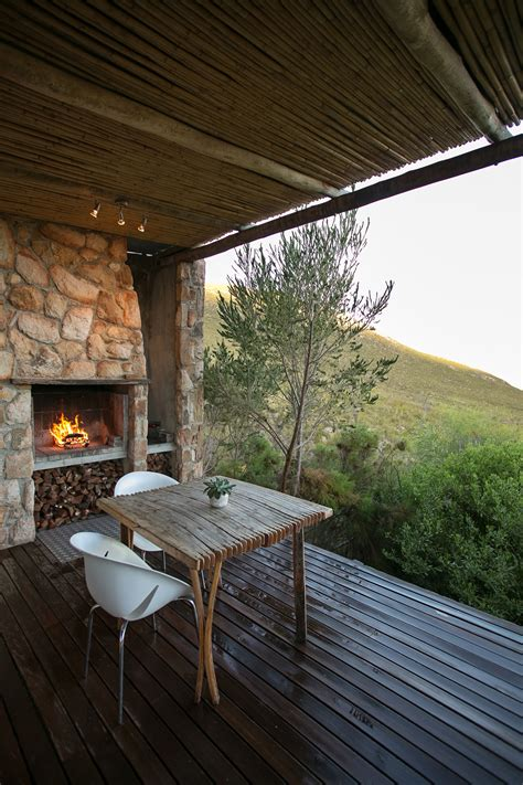 kolkol log cabin accommodation in the overberg south africa