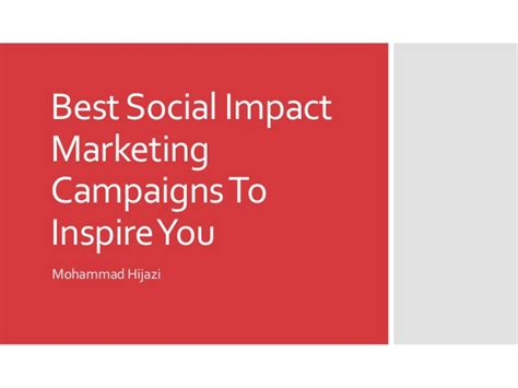 best social marketing best social impact marketing caigns to inspire you