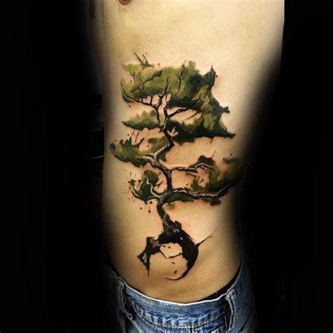 rib cage tattoos for men ideas 30 tree rib cage tattoos