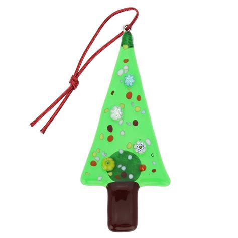 christmas tree ornaments murano glass christmas tree