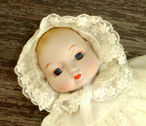 porcelain doll in christening gown 17 best images about vintage dolls on mattel