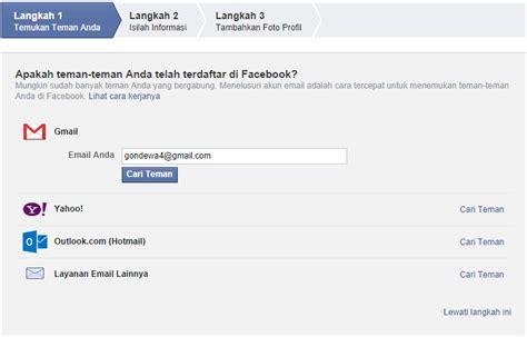 cara membuat akun facebook privat cara membuat akun facebook belajar komputer