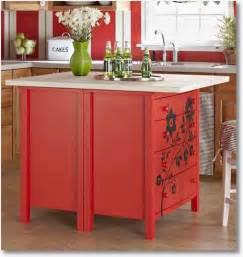 creative kitchen island creative kitchen ideas kitchen island from dresser ano