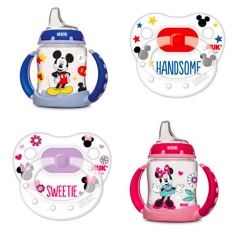 Botol Nuk Disney King Set new nuk mickey and minnie pacifiers and learner cups at walmart disney baby