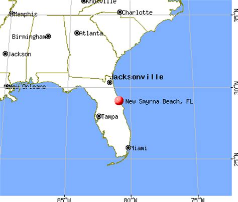 where is new smyrna florida on the florida map new smyrna florida fl 32128 32169 profile