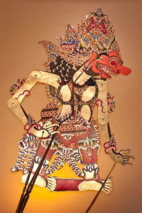wayang kulit solo images  pinterest soloing javanese  hand puppets