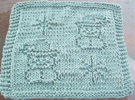snowflake knitting pattern free digknitty designs snowmen and snowflakes knit dishcloth