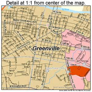 greenville carolina map 3728080