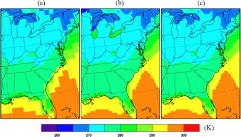 test pattern downscaling projected changes of extreme weather events in the eastern
