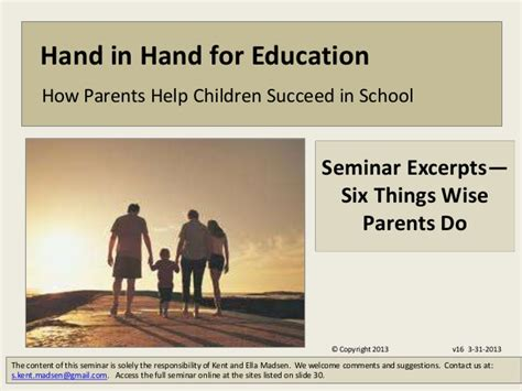 the ride home strategies to succeed for parents and coaches books parent seminar excerpts six things wise parents do