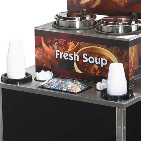 Soup Countertops Vollrath 37028 Soup Merchandiser With Dispenser