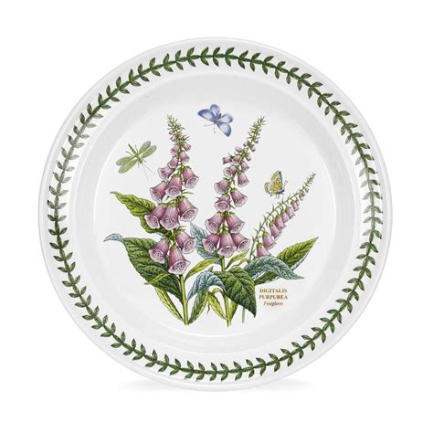 Portmeirion Botanic Garden Dinner Plate Portmeirion Botanic Garden 10 Inch Dinner Plate Foxglove Portmeirion Uk