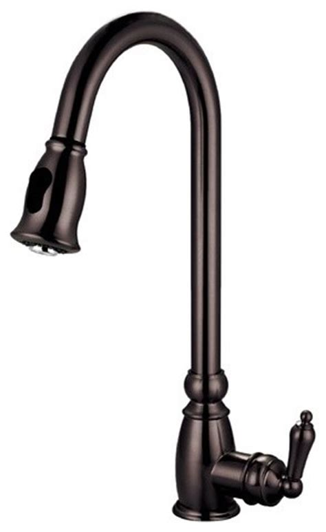 black pull out kitchen faucet 2018 gooseneck kitchen faucet with pull out spray wow