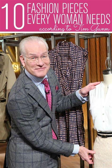 Tim Gunns Top Ten Fashion Essentials by 17 Best Ideas About Fashion Essentials On
