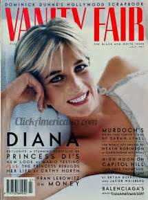 Vanity Fair Princess Diana Princess Diana On American Magazine Covers Click Americana