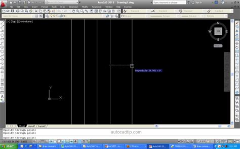 autocad tutorial with commands xline command in autocad