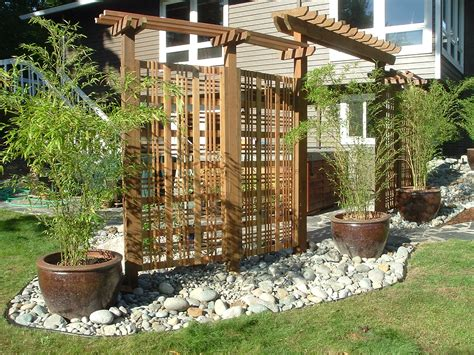 great privacy screen for patio attractive foldable wicker