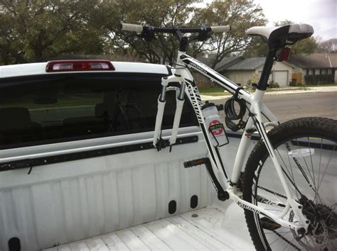 bike holder for truck bed truck bed bike racks page 3 mtbr com i pack heat