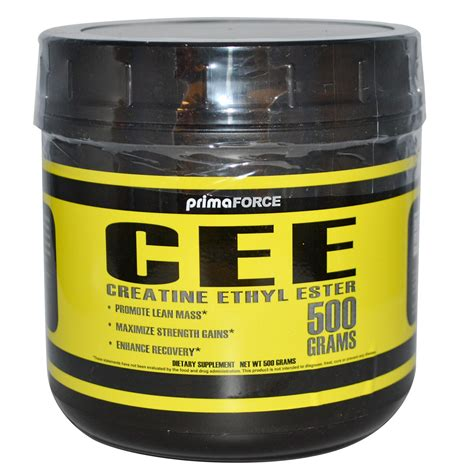 supragen creatine p l u s primaforce cee creatine ethyl ester 500 g iherb