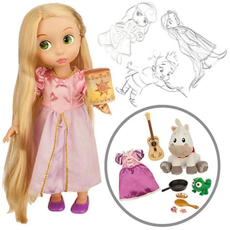 Disney Animators Collection Ariel Rapunzel Original 16 Inch tangled rapunzel doll gift set disney princess animators 2015 nib 16 inch ebay