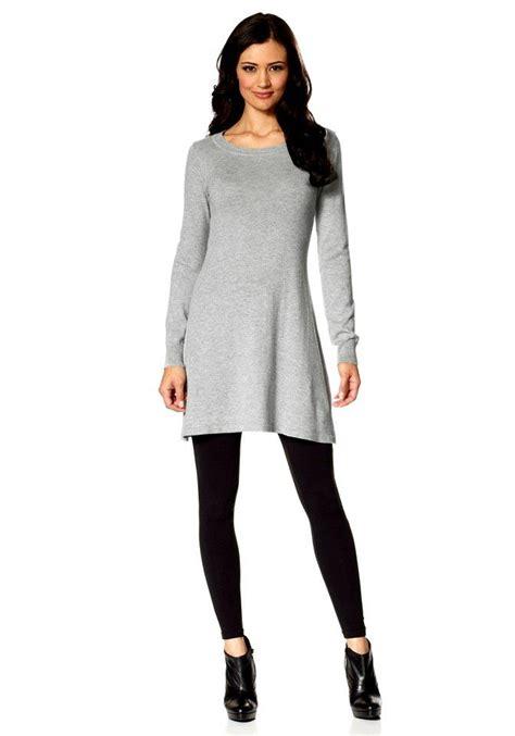 Khalifa Maxi Tosca By Z Shop strickkleid grau kleider outlet mode shop