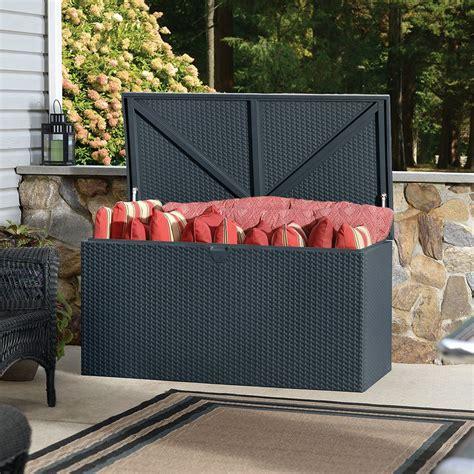 coffre de jardin metal coffre de jardin m 233 tal rambo 510l gris plantes et jardins