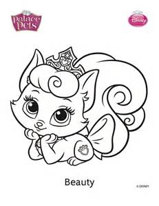 pet coloring pages free coloring pages of princes palace pets
