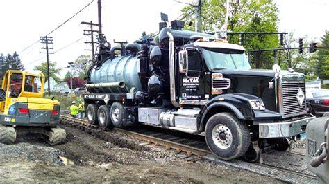 custom food trucks designed to meet the needs of every hy rail equiment vacuum trucks mcvac environmental