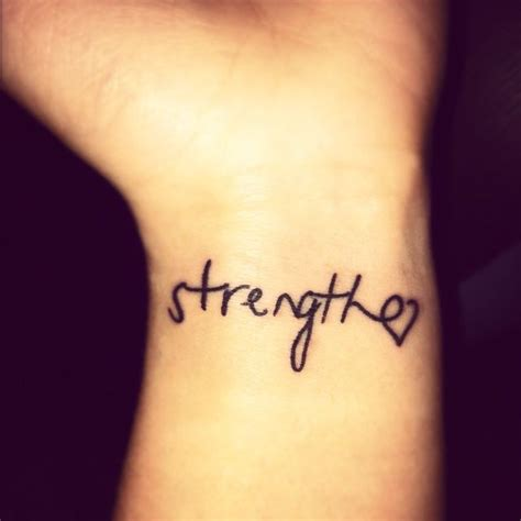 15 strength tattoos on wrists