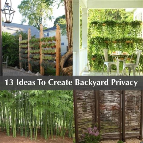 creating privacy in your backyard 13 attractive ways to add privacy to your backyard