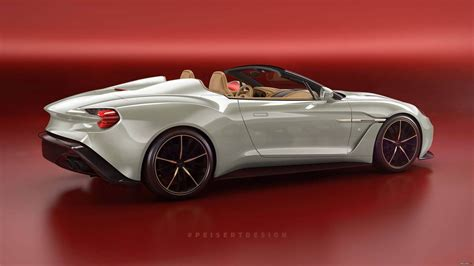 aston martin zagato speedster aston martin vanquish zagato speedster tipped for limited