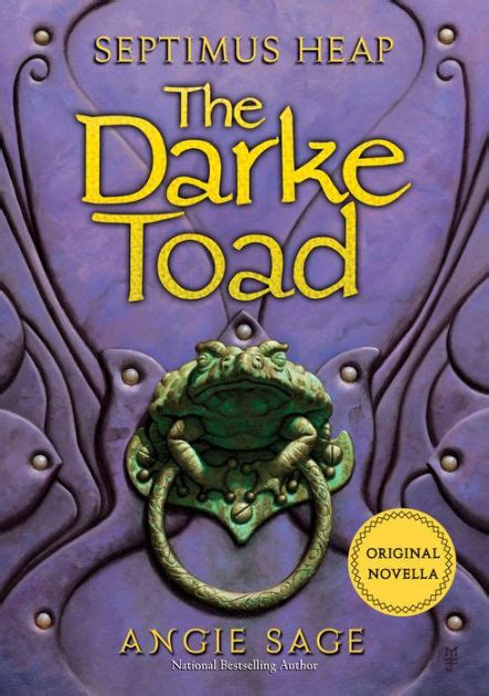 Setimus Heap 6 Darke septimus heap the darke toad by angie nook book