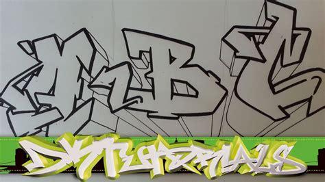 draw graffiti wildstyle graffiti letters abc step