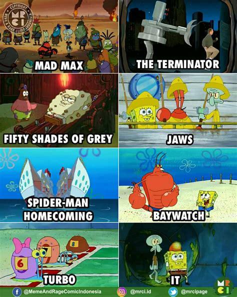 koleksi gambar  meme komik spongebob terbaru