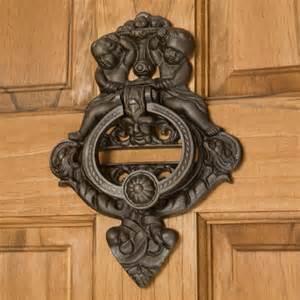 Cast Iron Door by Cherubs Cast Iron Door Knocker Hardware