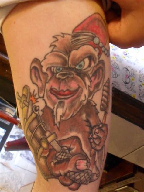 grease monkey tattoo grease monkey x3cb x3emonkey tattoos x3c b x3e and