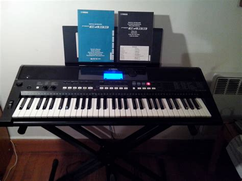 Second Keyboard Yamaha E433 yamaha psr e433 image 951216 audiofanzine