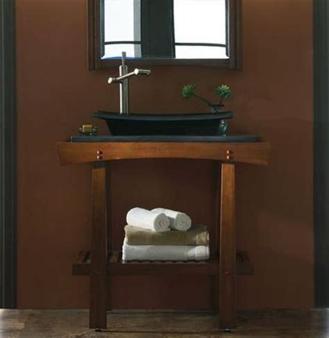Vanity Shelves Bathroom Homethangs Has Introduced A Guide To Open Shelf Bathroom Vanities For A Small Bathroom