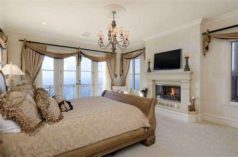 bedroom with fireplace luxury master bedrooms with fireplaces designing idea