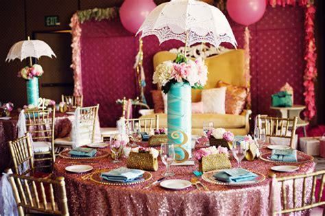 Decorating Ideas For Kitchen Bridal Shower 17 Pretty Pink Decoration Ideas For Bridal Shower Style