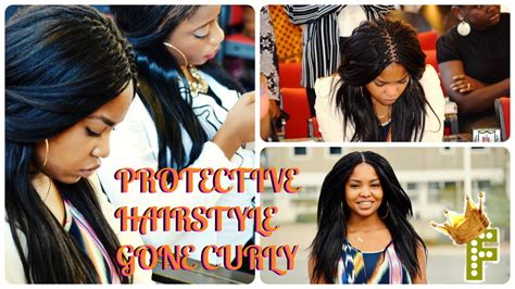 pick and drop braids all types of pick and drop protective hairstyle curl on my pick n drop week 1