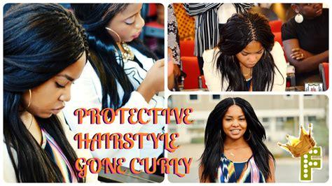 pick n braid style protective hairstyle curl on my pick n drop week 1