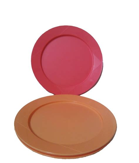 Tupperware Dining Set tupperware set of 4 dining plates buy at best