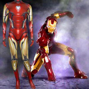 avengers endgame iron man mark cosplay costume zentai