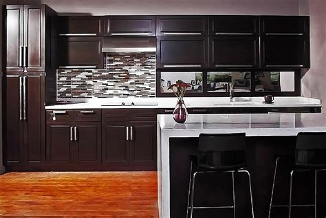 Kitchen Cabinet Distributors kitchen faucet honed black granite counters riviera